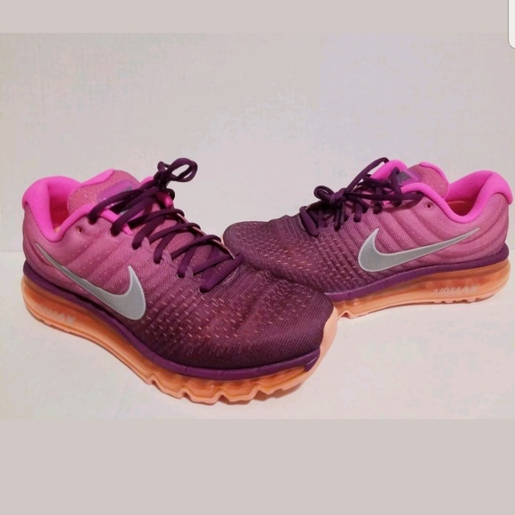 womens nike air max 2017 bright grape nz